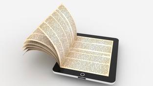 Elektronická kniha (ilustrační fotografie)