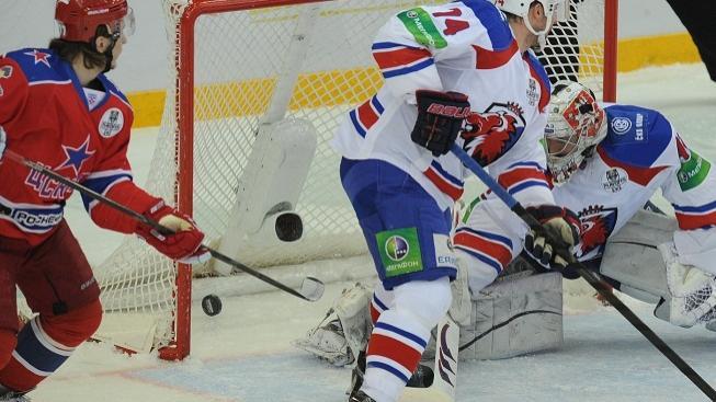 Lev Praha vs. CSKA Moskva