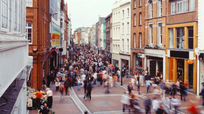 Rušný Dublin