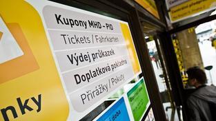 Předprodej jízdenek MHD