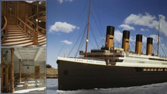 Replika Titanicu