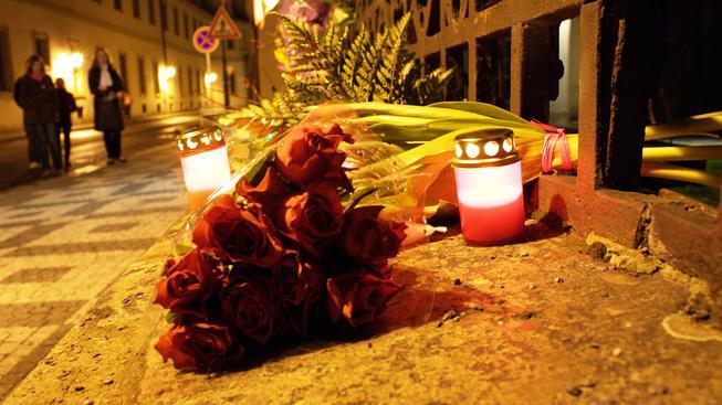 Pieta za oběti letecké tragedie u Smolensku.