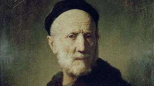 Portrét Rembrandtova otce.
