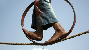 Umělec na laně