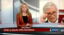 Faux pas ve STV: Z vedení ČSSD vyhodila Diensbiera staršího, který už nežije