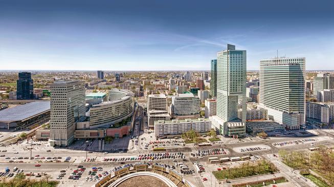Varšava (ilustrační fotografie)