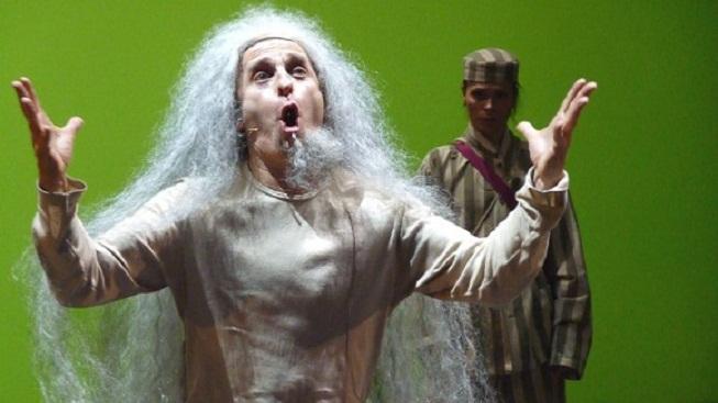 Král Lear v podání Davida Prachaře