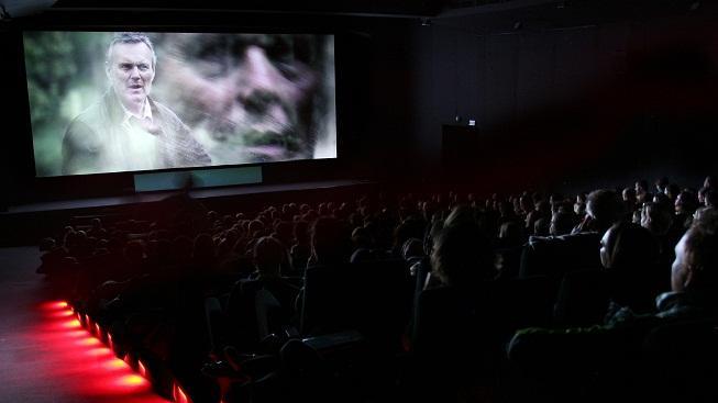 Promítání filmu (ilustrační foto)