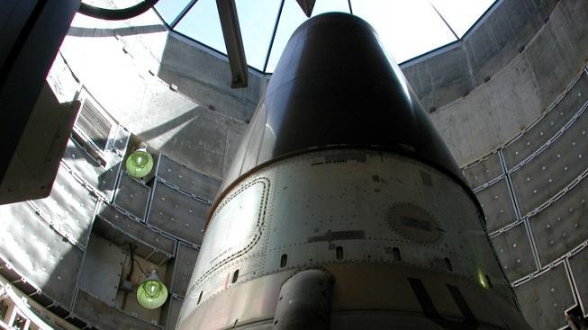 Vesmírná střela (ilustrační foto)