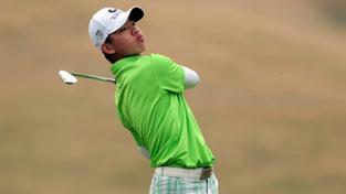 Nejmladší golfista Tchien-lang