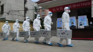Zdravotníci, Čína