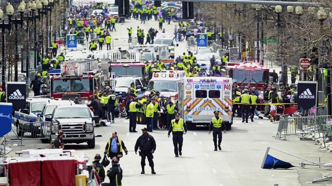 Exploze v Bostonu