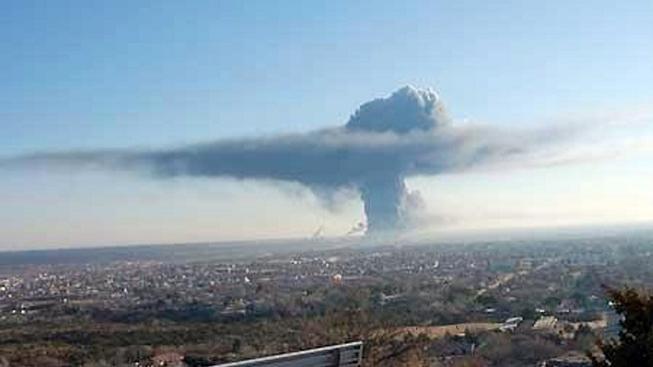 Výbuch v Texasu