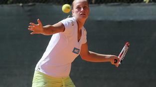 Petra Kvitová na tréninku