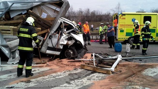 Nehoda (ilustrační foto)