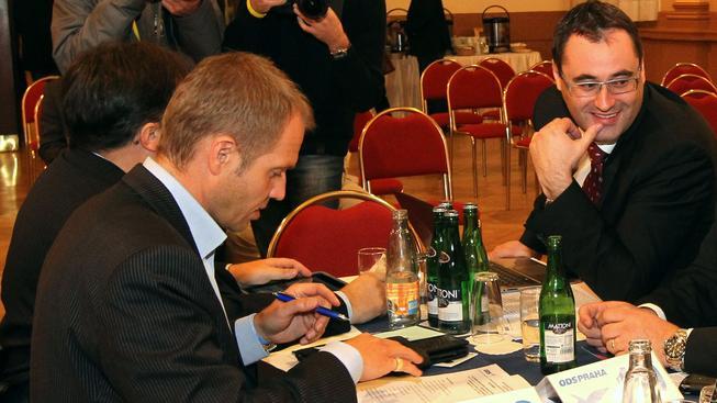 Milan Richter a Boris Šťastný