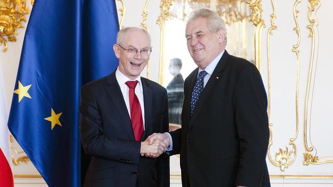 Van Rompuy a Zeman