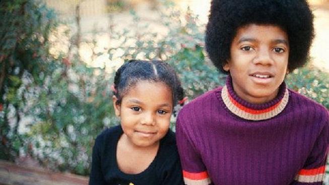 Michael a Janet Jacksonovi