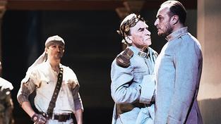 Scéna ze hry Troilus a Kressida