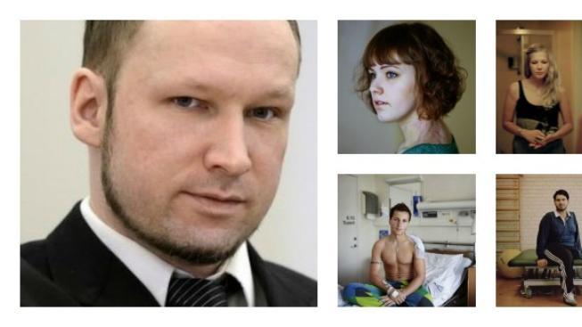Breivik a jeho oběti