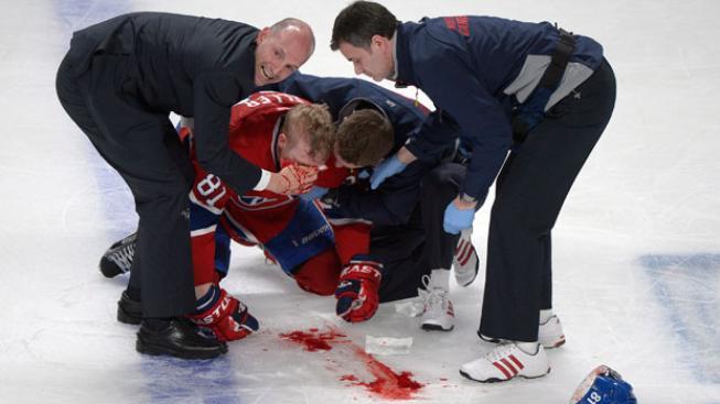 Zraněný Lars Eller