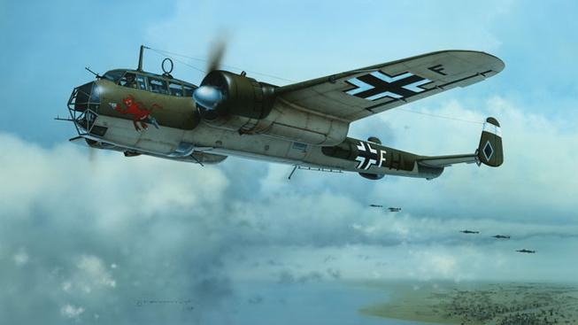 Německý bombardér Dornier Do-17