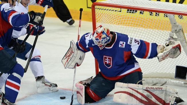 Gólman Rastislav Staňa