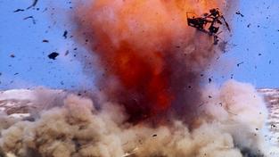 Exploze (ilustrační foto)