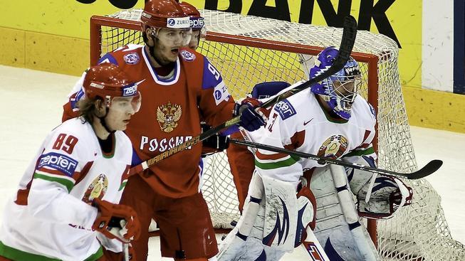 Zápas Bělorusko - Slovinsko
