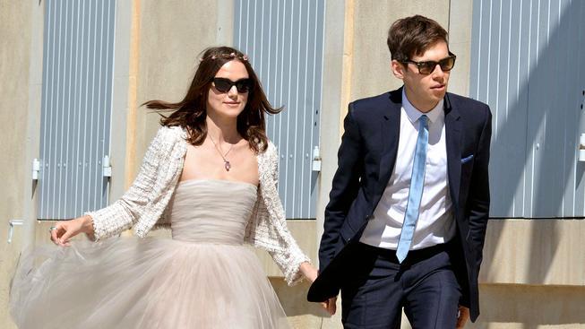 Keira Knightley s manželem