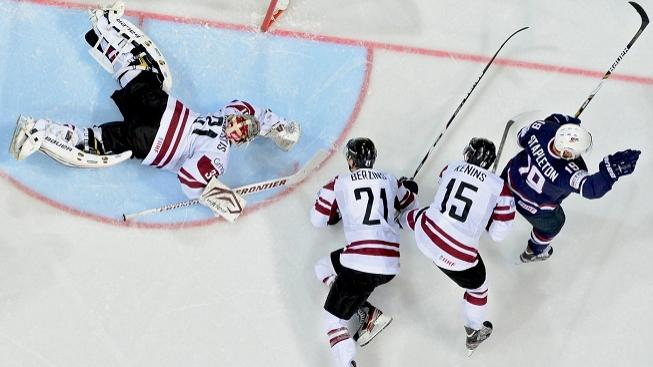 Zápas USA - Lotyšsko