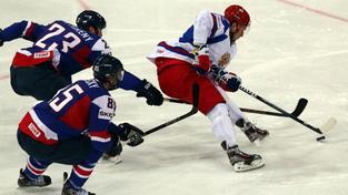 Zápas Slovensko - Rusko