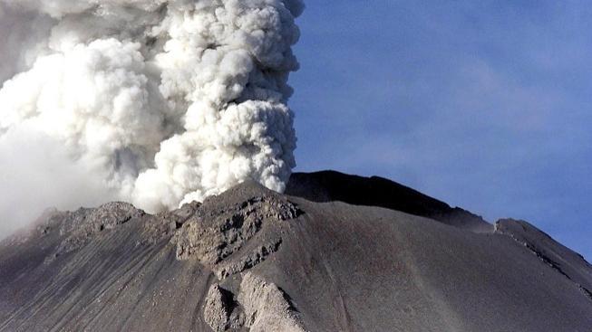 Sopka Popocatepétl