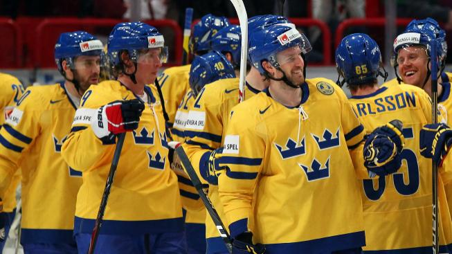 Švédsko slaví výhru