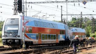 Vykolejený vlak (ilustrační foto)