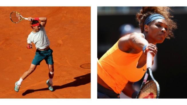 Rafael Nadal, Serena Williamsová