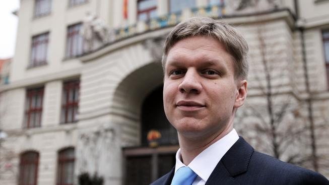 Pražský radní Tomáš Hudeček