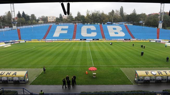 Stadion zadluženého Baníku Ostrava