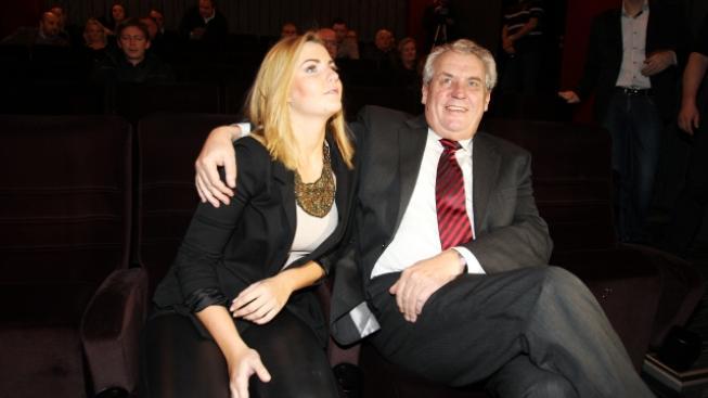 Kateřina Zemanová s otcem