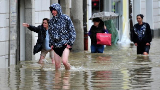 Povodně v zahraničí