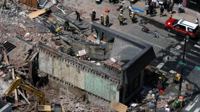 Kolaps budovy, Philadelphie