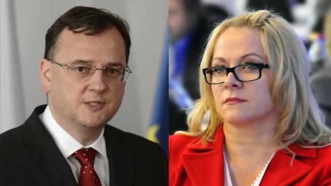 Petr Nečas, Jana Nagyová