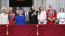Alžběta II. oslavila narozeniny, Kate byla naposledy před porodem na veřejnosti