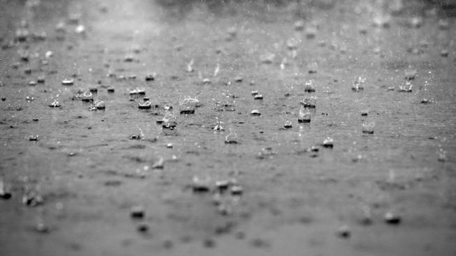 Déšť (ilustrační foto)