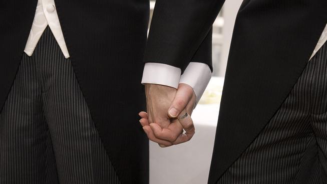 Sňatky homosexuálů (ilustrační fotografie)