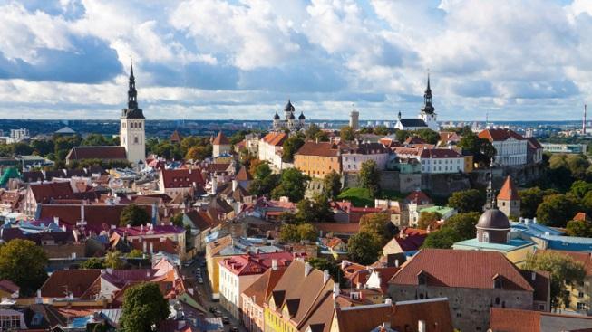 Tallinnské panorama