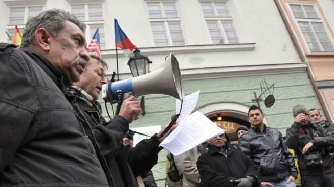 Pochod extremistů (ilustrační foto)