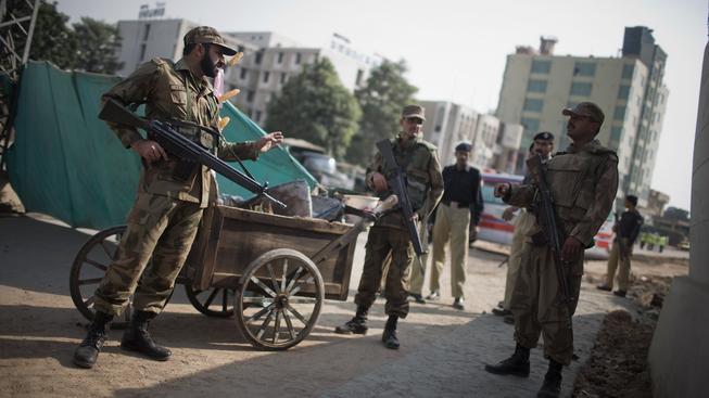 Pákistánská policie (ilustrační fotografie)
