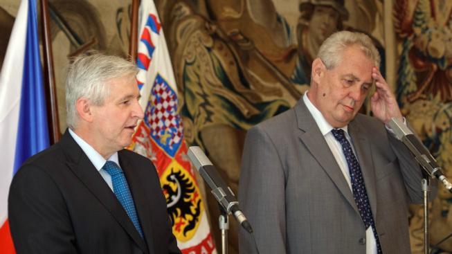 Aktualizováno: Proti všem! Zeman jmenoval Rusnoka premiérem. Úřednická vláda bude do 14 dnů