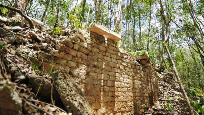 Ruiny města v Mexiku